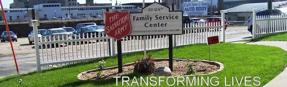 Salvation Army Quad City Service Center