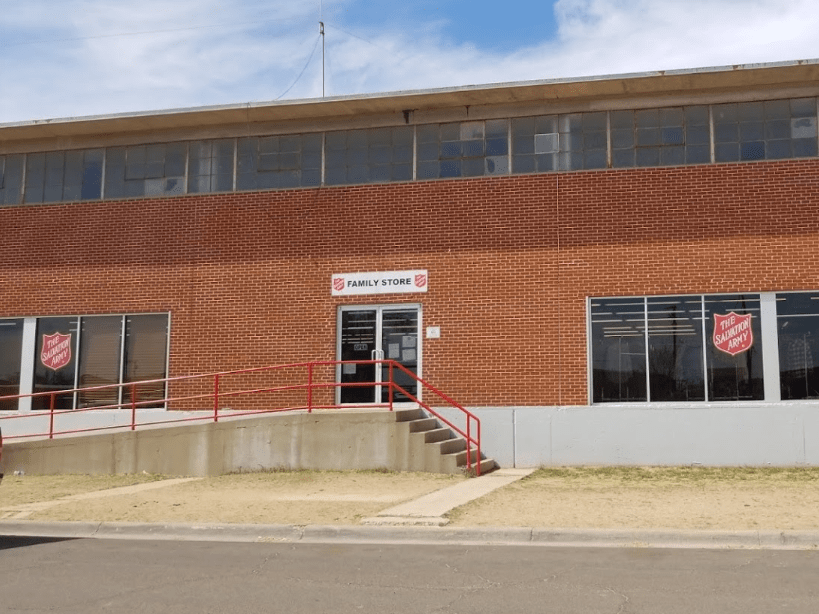 Salvation Army Midland TX Homeless Shelter