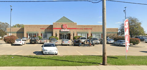 Salvation Army Stepping Stone Program and Daytime Warming Center