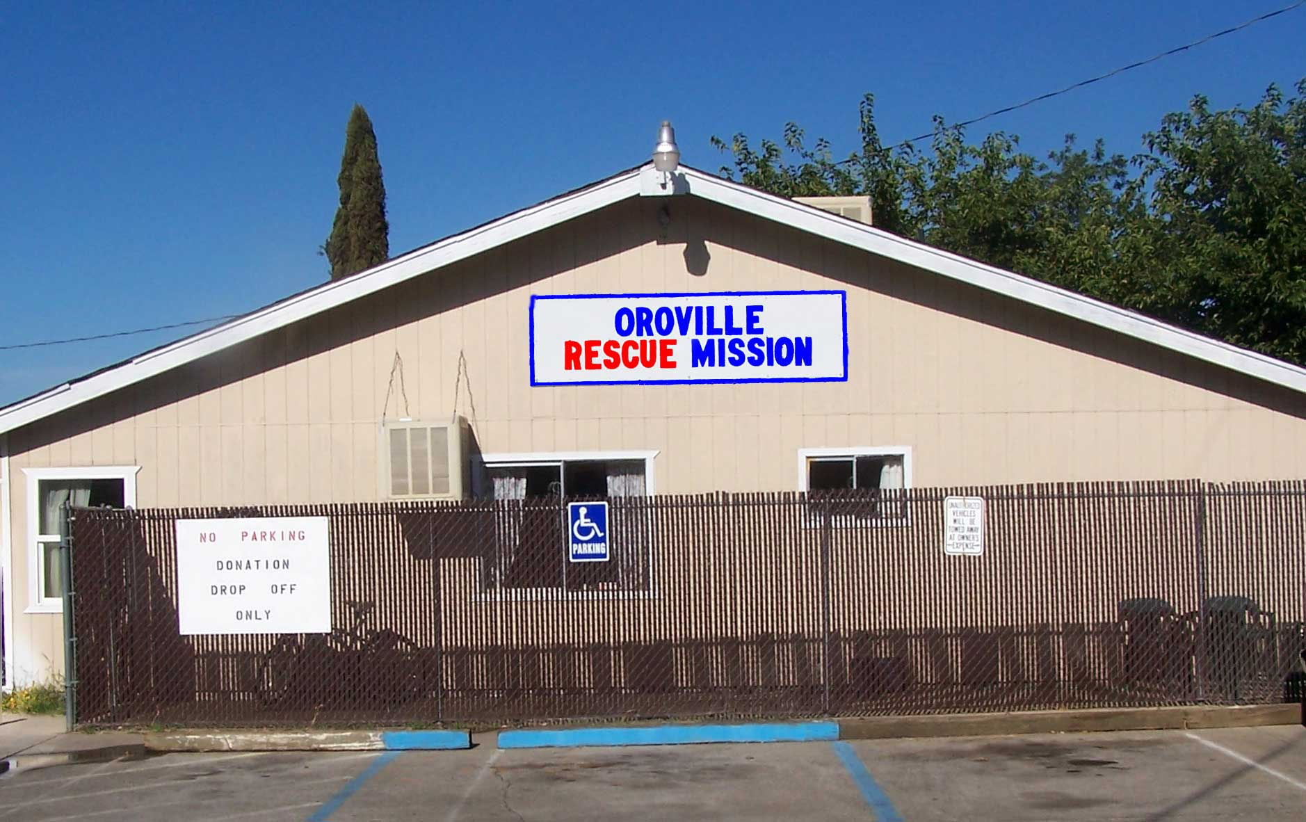 Oroville Rescue Mission Women's Shelter